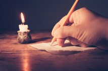 Writing By Candlelight