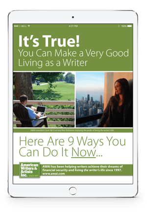 Report - 9 Ways You Can Make a VERY Good Living as a Writer