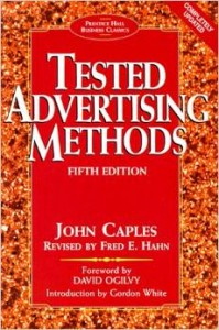 Tested Advertising Methods by John Caples1