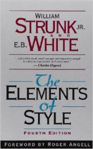 The Elements of Style by Strunk