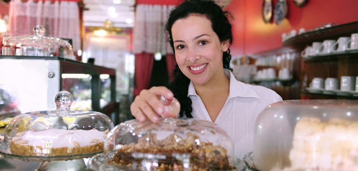small business owner, cake shop