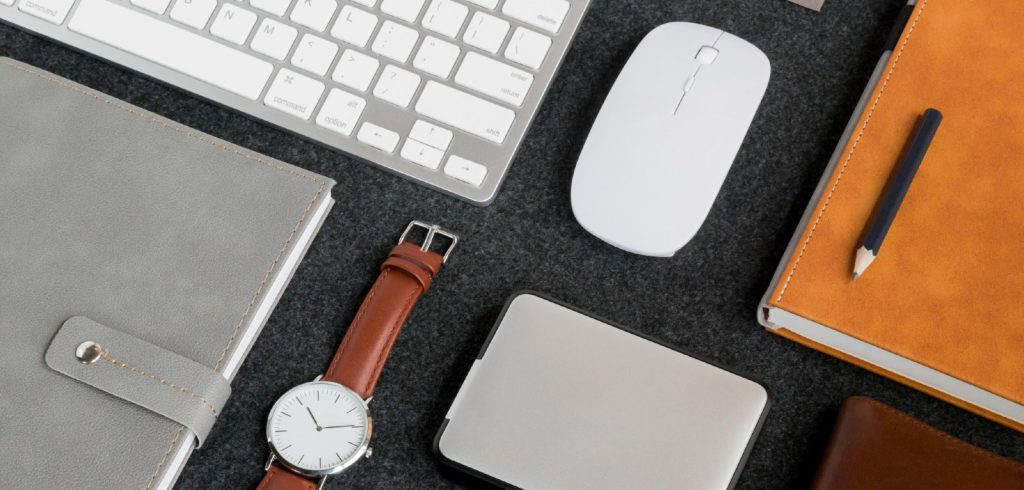 tools for writers on desk