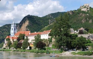 Duernstein, along the Danube River in Austria. roughly one hour from Vienna (Photo by Adele Ziminski