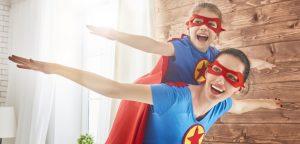 Super Hero Mom